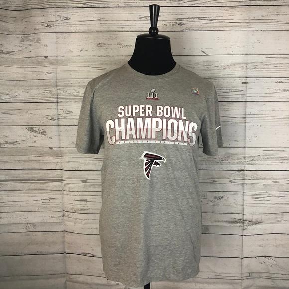 1ae448b3 Nike Shirts | New Nfl Super Bowl Lii Falcons Gray Tshirt S | Poshmark